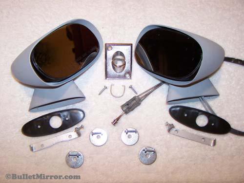 Skylark Camaro Vette Chevelle Sport Mirrors